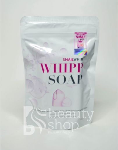 Snail White Whipp Soap